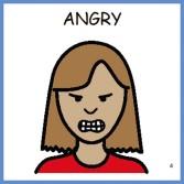 Angry Cartoon Woman Angry woman cartoon